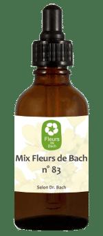 Mix fleurs de Bach n°83 pour lutter contre le BurnOut