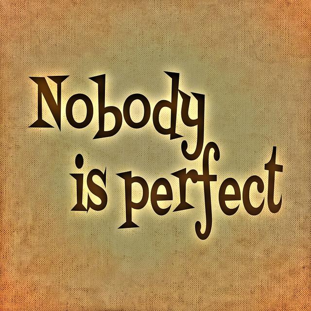 vouloir être parfait